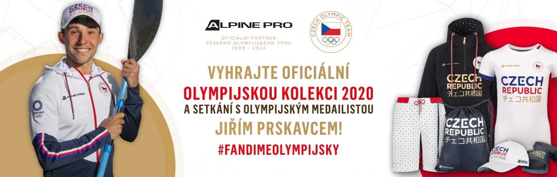 VYHRAJTE OFICIÁLNÍ OLYMPIJSKOU KOLEKCI 2020